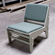 Fixed Lounge Chair