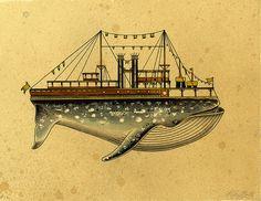 Whaleboat I by Kyler Martz, via Flickr