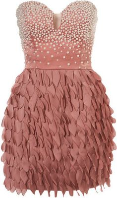ShopStyle: Topshop Pearl Petel Dress by Rare Opulence**