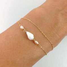Alexis Bracelet 14kt Gold FIlled by MishaHawaii on Etsy