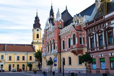 Often bypassed, those who aren't visiting Oradea in Romania are surely missing out. Instead, spending one day in Oradea to see the sights is the right call. Travel Around Europe, Gaudi, All Over The World, Travel Photos, Art Nouveau, Beautiful Places, Mansions, Architecture, House Styles