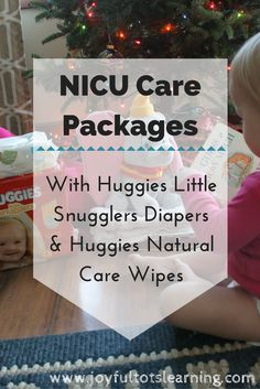 An easy way to give back this season is to put together care packages for families in the NICU! Click through for an easy tutorial to get started! #NoBabyUnhuggedCB #CollectiveBias #ad
