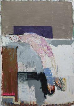 "Saatchi Art Artist christos tsimaris; Painting, ""nude (after Sickert)"" #art"