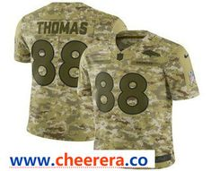 32c3524ce Men s Denver Broncos Von Miller 2018 Camo Salute to Service Stitched NFL  Nike Limited Jersey