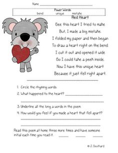 fruit stand first grade reading comprehension worksheet First ...