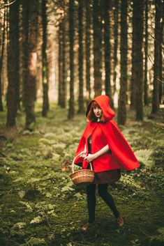 I don't know why, but Little Red Riding Hood has always been one of my favorite fairytales. Maybe it's because everyone knows the woods ar...
