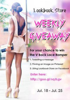 Lookbook Store Weekly Giveaway