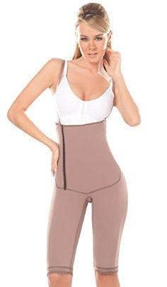 c00ccac2b3 DPrada 041 Strapless Shapewear Backless Body Shaper Girdle Fajas para  Adelgazar - Cocoa-Optic - S