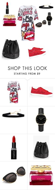 """""""Untitled #34"""" by dedic-elvira ❤ liked on Polyvore featuring WithChic, Boohoo, ROSEFIELD and Smashbox"""