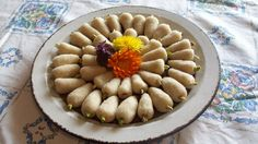 Persian tut. Traditional spring celebration food.  http://mypersiankitchen.com/persian-tut-white-mulberry-sweet/