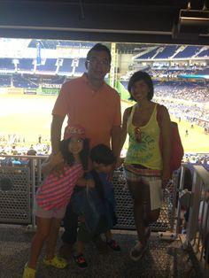 En el juego de Béisbol Marlins de Miami