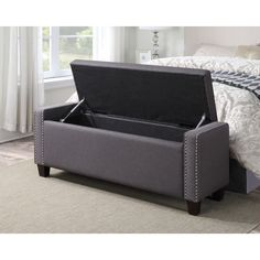 House Of Hampton Gistel Upholstered Storage Bedroom Bench U0026 Reviews |  Wayfair
