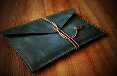 Rustic leather ipad case Nexus case art ipad air от gizmogadgets