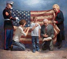 Yes, bring back prayer, the pledge of allegiance,  the Word of God, and our great flag. Our nation could be great again.....