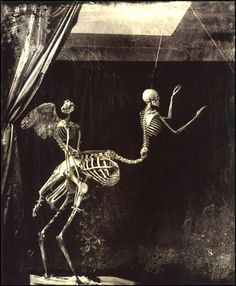 """""""Cupid and Centaur"""" by Joel-Peter Witkin (1992)  (un)Naturally, we can't have Centaur Week without posting one ofJoel-Peter Witkin's most famous works, riffing off the classical Greek """"Kentauros & Eros"""" motif…"""