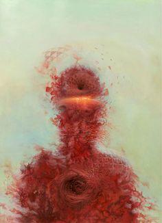 Abstract Paintings by Brendan Monroe