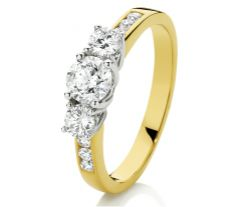 Gold and platinum are popular choices for engagement bands. We've done the research to help you choose the ring of your dreams. Engagement Bands, Diamond Engagement Rings, Going For Gold, Whole Heart, Crafts To Make, Diamond Rings, Gems, Jewels, Metal