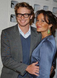 Simon Baker And Wife 2013