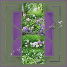 Quelques tulipes à Giverny...