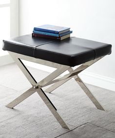 Love this Gray Lykke Stool by HomeBelle on #zulily! #zulilyfinds