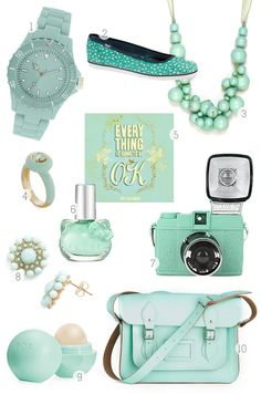 Inspired by Mint Green