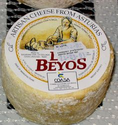 Beyos, an unusual, but compelling cheese from Asturias that can be made from either cows' or goats' milk or a blend of both. Photo by Gerry Dawes