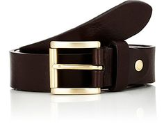 Barneys New York Textured Leather Belt - Belts - 503251873