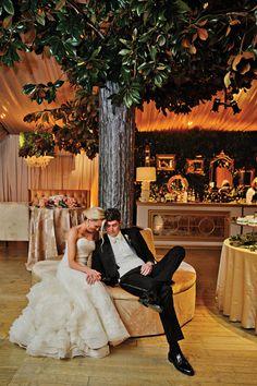 ballroom trees