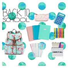 """Back to School with Style"" by gruiz2287 ❤ liked on Polyvore featuring Candie's, Household Essentials, Maybelline, Forever 21, Sharpie, BackToSchool and inmybackpack"