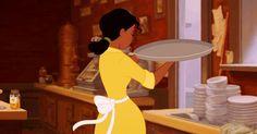 Tiana salute - Princess and the Frog