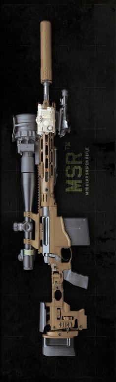 MSR - Modular Sniper Rifle by REMINGTON (MW3 COD?)