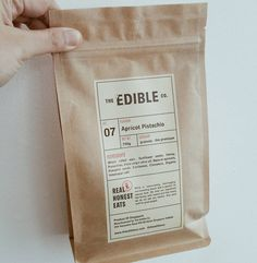 """36 To se mi líbí, 2 komentářů – The Edible Co. (@theedibleco) na Instagramu: """"☞NEW☜ Apricot Pistachio Granola. Loosely inspired from one of my favourite Greek pastry. THE…"""""""