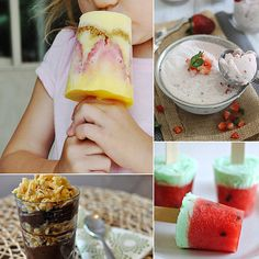 """45 Delicious No-Bake Summer Dessert Ideas Baking with kids can be a blast, but who wants to hover over a hot stove in the middle of the Summer? Keep your budding chefs amused, and those sweet teeth satisfied, with one of these simple and summery no-bake dessert ideas. Added bonus? Keeping the oven on the """"off"""" setting means one less kitchen safety hazard for your little helpers!"""