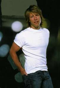 Jon Bon Jovi...I wasn't sure if I should pin him under entertainers or mmmmm!