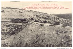 "WWI, 1916, ""The Battle of Verdun- The Wood and the hollow-way of the Caillette. On right, the hollow-way of the Basil; on the horizon, and one right, the Fort of Vaux"" - Delcampe.net"