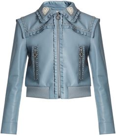 MIU MIU Crystal and stud-embellished leather bomber jacket  #ShopStyle #MyShopstyle #fallfashion #wearitloveit # Women bomber jacket #quilted #wool #leather #fleece # camouflage # Faux-fur  click for more information or to purchase the item