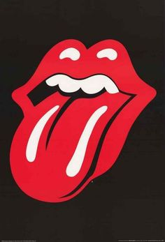 Rolling Stones Tongue Logo Poster 24x36