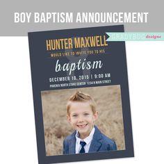 Meer dan 1000 ideeën over Baptism Announcement op Pinterest - Doop ...