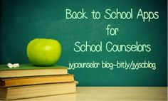 jyjoyner counselor: Back to School Apps for School Counselors