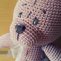 #crochet #bear #handmade #gift #decoration #children