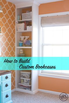 How To Build Custom Bookcases