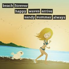 Beach Time - A poem from inspirebykim with art by Nidhi Chanani on Storybird