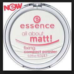 Essence All About Matt Fixing Compact Powder: rated 4.6 out of 5 by MakeupAlley.com members. Read 27 member reviews.