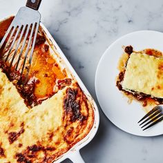 This Greek casserole is also really delicious the day after, straight out of the fridge for breakfast. Don't ask us how we know this, we just do.