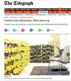 The Telegraph. Vertical Allotments. May 2011.