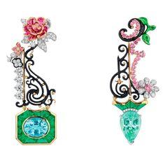 10 bijoux japonisants - The French Jewelry Post by Sandrine Merle Dior Jewelry, Jewelry Armoire, Gems Jewelry, Jewelry Art, Jewelry Accessories, Jewelry Design, Unique Jewelry, Silver Jewelry, Locs
