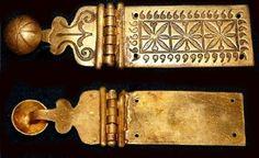 D62: portapugio. roman I-II century AD. material: Bronze
