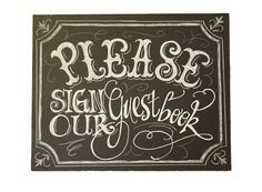 Small Chalkboard Art Sign for your Wedding or by watermelonstand, $18.50