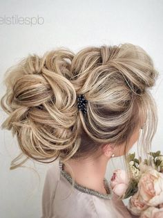 Elstile Long Wedding Hairstyle Ideas 10 / http://www.deerpearlflowers.com/26-perfect-wedding-hairstyles-with-glam/2/