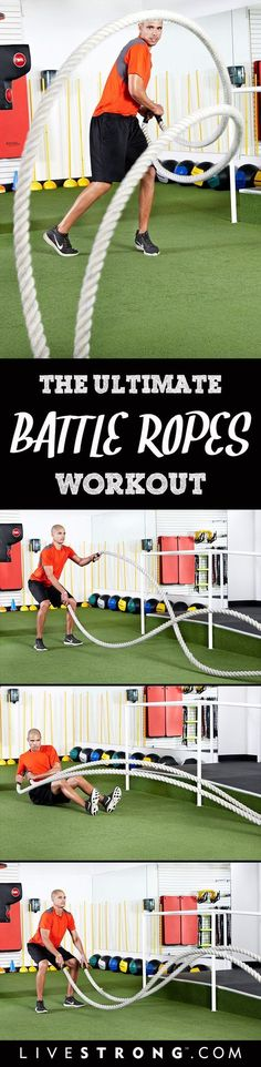 12 of the Most Challenging Battle Ropes Exercises
